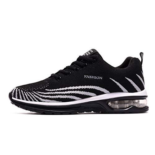 UOMOGO - Uomo Donna Scarpe da Ginnastica Unisex Corsa Sportive Running Sneakers Casual all'Aperto 38-45EU