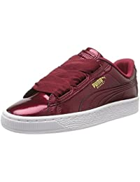 Puma Unisex-Kinder Basket Heart Glam Jr Sneaker