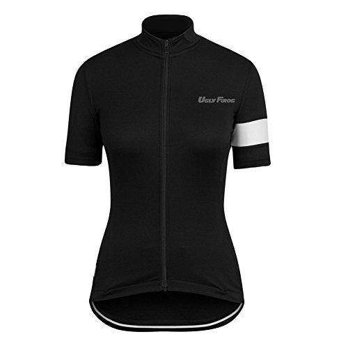 Uglyfrog HHDW05 Neue Radtrikot Shirt Kurzarm Pro Team MTB Radfahren Top Radshirt Atmungsaktiv Sommer Fahrradtrikot Shirt Damen Breathable Radfahren Clothes Stilaktualisierung -