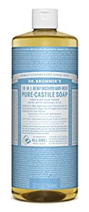 Dr. Bronners Baby Unscented 946 ml Castile Soap (Seife)