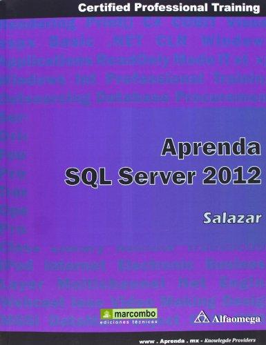 Aprender SQL Server 2012 por FRANCISCO SALAZAR DÍEZ