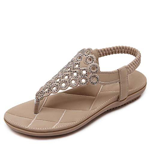 Gladiator Crystal T Straps Flip Flop für Frauen Elastic Knöchelriemen Thong Flache Sandalen Summer Beach Sandal Dreams Thong Sandal