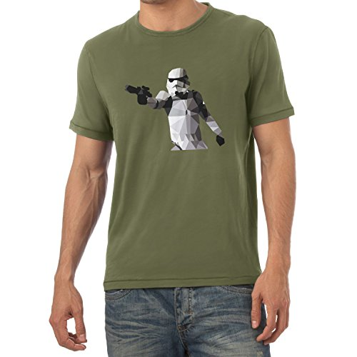 TEXLAB - Poly Gun Trooper - Herren T-Shirt Oliv