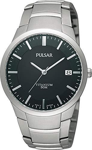 Pulsar Uhren Herren-Armbanduhr XL Modern Analog Titan PS9013X1
