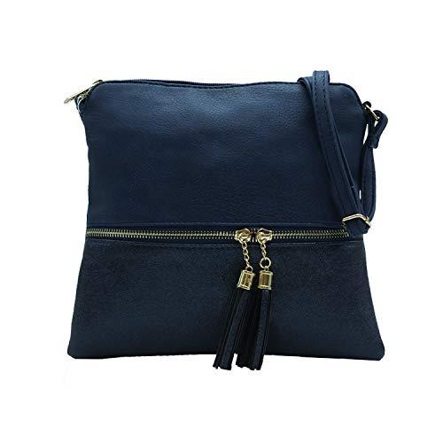 MISEMIYA - Borsa a Tracolla Borse Tracolla Donna borsa a Tracolla donna SR-J365-1 - DARK BLUE