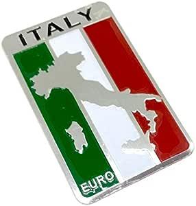 Italien Italienischer Metall Auto Aufkleber Abzeichen Aufkleber Sport Freizeit