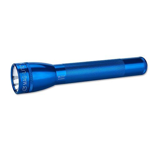 Mag-Lite ML25IT-3115 Stablampe 2 C-Cell, Aluminium, blau, 4.3 x 21.9 x 4.3 cm