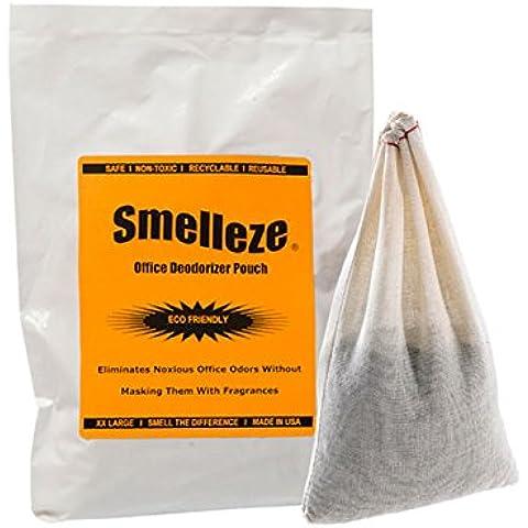 SMELLEZE riutilizzabile Ufficio odori deodorazione: rimozione di odore 200 sq. FT. Senza Sostanze Chimiche