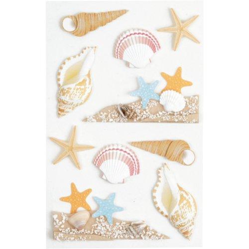 sticker-embellishments-little-b-sea-shells-medium-stickers