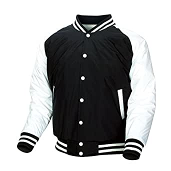 22ddec00a7 myglory77mall Men s Baseball Letterman Quilting Padded Jacket Top ...