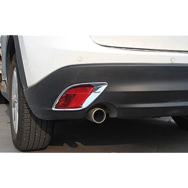 Exterieur Nebelschlussleuchte Dekor Abs Kunststoff Verchromt 2 Stück Für Cx 5 Ke 2011 2016 Auto