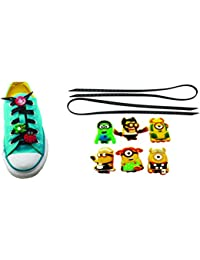 AVIRGO Universal Lazy No Tie Silicone Shoelace Rubber Elastic Slip Sneaker Shoe Laces Running Shoelaces Athletic... - B01N63EDZH