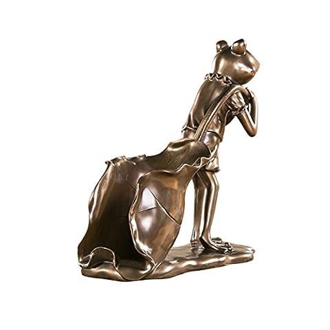 Elegant Resin Frog Man Beauty Man Deer Head Maid Style Wine Rack Carving Fine Crafts Ornaments Gift Sculpture