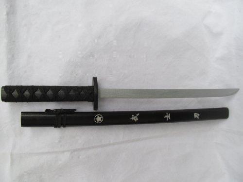 Medium Imported Chinesischen Schwarz & Silber Holzschwert Messerkampfkunst Waffe Mit Bokken Fall Ornatmental Schwert Aus Londoner Geschrieben Bt Fat-Catz - Bild 3