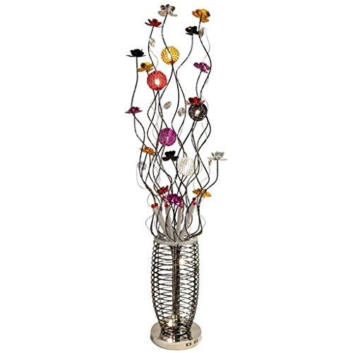 Standleuchten Stehlampen Stehleuchten Bunte Idylle Stehlampe Persönlichkeit Mode Kreative Stehlampe Wohnzimmer Schlafzimmer Nachttischlampe (Color : Remote control) -