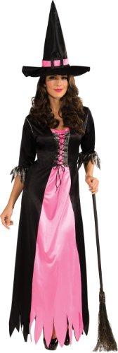 Rubies 's Disfraz clásico de Bruja Color Azul y Negro Vestido y Sombrero - Multi -