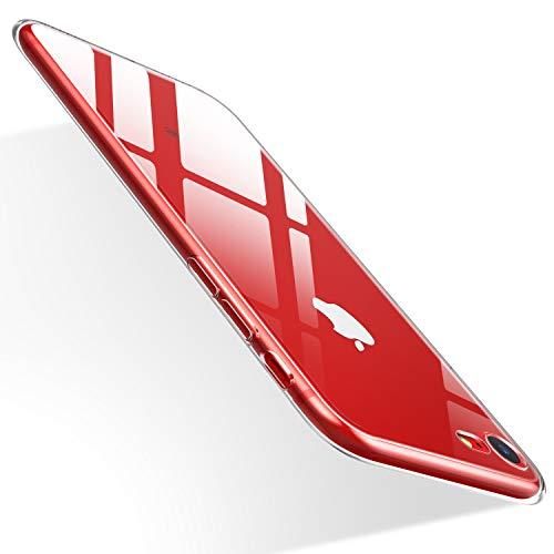 Humixx iPhone 8 Hülle, iPhone 7 Hülle, Anti-Fingerabdruck, Anti-Scratch FeinMatt FederLeicht Hülle Tasche Schale Hardcase für iPhone 8/7-Schwarz (Transparent)