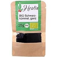 Condimento Herbs Hestia Comino Negro Biológico Hierbas Especias, 25g