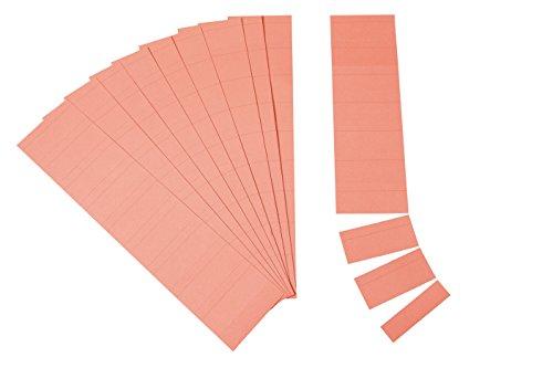 Ultradex Steckkarten für Planrecord/140705 7cm rot Karton 190 g/qm Inh.90 (Perforierte Linie Papier)