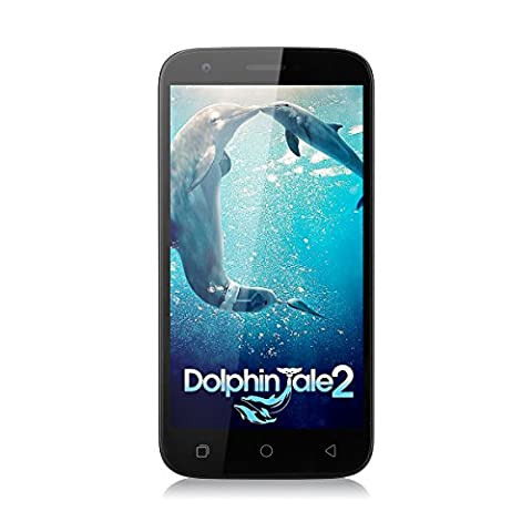 Ulefone U007 pro 5.0 Zoll 4G-LTE-Smartphone Android 6.0 1.0GHz Quad Core Dual SIM 1G RAM + 8G ROM 2.0 MP + 8.0 MP Dual Kamera Handy ohne Vertrag Corning Gorilla 3 HD Screen GPS WiFi