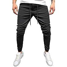 Rawdah Pantalones Hombre Hombre Casual Sportwear Baggy Jogger Pants Slacks  hasta El Tobillo Pantalones De CháNdal Pantalones 18c8bf532e7e