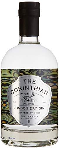 The Corinthian London Dry Gin 40{1f6dbf55ff7d1cabb615cfe8869277202c9f5c8cac28c07b6f390ee116723e29} (1x 0.7l) fruchtiger-blumiger Gin aus dem Herzen Londons. Hergestellt von Englands renommiertester Gin Destille: Thames Distillers