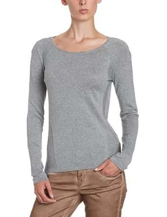 MEXX METROPOLITAN Damen Pullover 6BHTS014, Gr. 42 (XL), Grau (56)