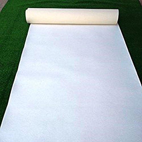 Buonomo colori tappeto bianco per nozze, con pellicola protettiva. tappeto sposa, nuziale