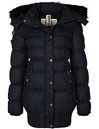 DreiMaster - Chaqueta con capucha amovible 37836039 - Mujer