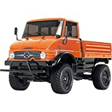 TAMIYA 300057843 - 1:10 RC XB Unimog 406 (CC-01), 2.4 Ghz, orange