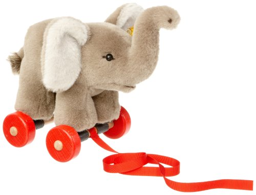 Steiff 048784 - Nachziehtier Trampili Elefant