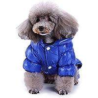 Ropa para Mascotas, Gusspower Ropa de Abrigo Abajo Chaqueta Invierno Suéter cálido cómodo Deportiva Traje Ropa de Cuatro Patas para Mascotas Gato Perro