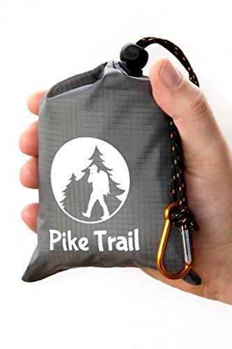 Pike Trail Outdoor-Taschendecke Grau/Orange