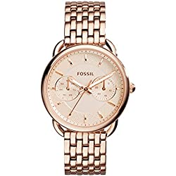 Fossil Tailor Analog Copper Dial Women's Watch - ES3713