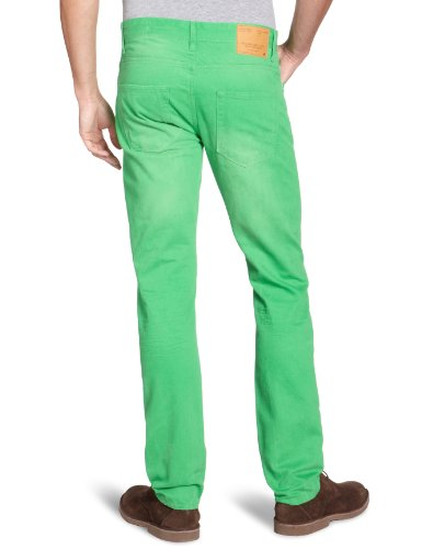 JACK & JONES Herren Jeans Skinny Normaler Bund TIM ORIGINAL Grün (Bright Green)