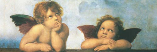 empireposter - Raphael - Angels - Größe (cm), ca. 91,5x30,5 - Slim-Poster, NEU -