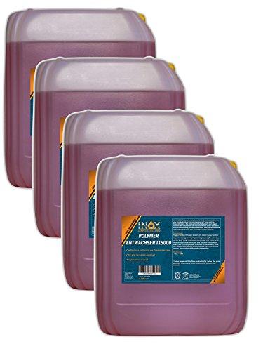 Preisvergleich Produktbild INOX IX 5000 Polymer Entwachser,  4 x 5L - Entferner von synthetischen Polymerwachsen