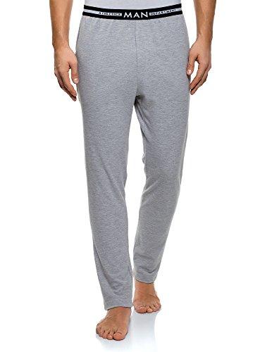 Oodji Ultra Hombre Pantalones Estar Casa Elástico