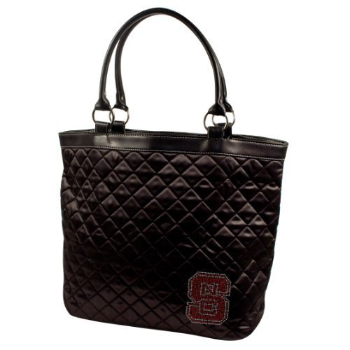 ncaa-north-carolina-state-wolfpack-sport-noir-quilted-tote-black-by-littlearth