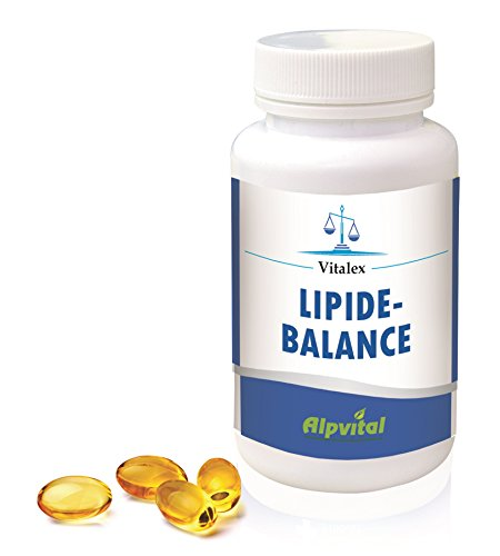 Alpvital Lipide Balance - Fischöl Vitamin E - Diät Verdauung Stoffwechsel