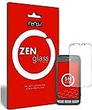 ZenGlass (2 Stück Flexible Glas-Folie für Doro Liberto 820 Mini Panzerfolie I Bildschirm-Schutzfolie 9H