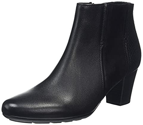 Gabor Shoes 56.581 Damen Kurzschaft Stiefel, Schwarz (Schwarz (micro) 37), 42 EU (8 Damen UK)