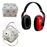 3M 1426-9004v-P2 Valved Antipollution Dust or Mist P1 Bike or Scooter Riding Respirator