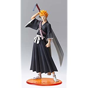 "Bleach : Ichigo Kurozaki PVC Figure - 10"" [Toy] (japan import) 9"