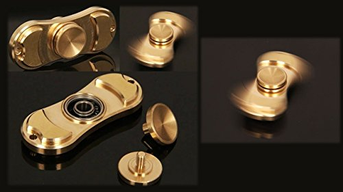RS-PRO-RIDERS-Finger-Hand-Fidget-Toy-Spinner-EDC-100-Solid-Brass-Hybrid-Ceramic-Bearing-High-Speed-Long-3-5-Minutes-Spin-Times-High-Quality-and-Durable