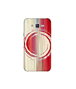 Kolor Edge Printed Back Cover For Samsung Galaxy On7 - Multicolor (8022-Ke10339SamOn7Sub)