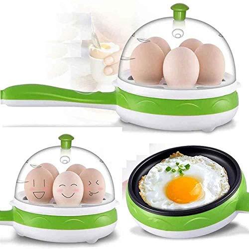VIFITKIT® Multi Function 2 in 1 Electric Egg Boiler Steamer Omelette Frying Pan Non-Stick Boiled Eggs Boiler Steamer (Color May Vary)