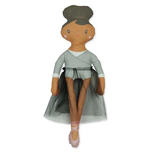 Preisvergleich Produktbild Puppen nähen selbst genäht für Mädchen und Jungen - Spiele Freizeit und Hobby - nähset kinder ab 8 (Black Swan)