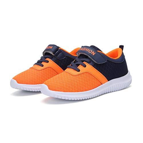 39ea0e44e6f6a wyhweilong Mode Respirante de Chaussures Enfants de Baskets Garçon pour la  Course/Tennis