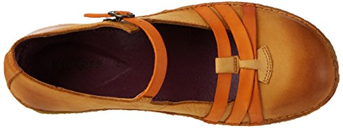 Kickers Damen Hibou Geschlossene Ballerinas Braun (MARRON CLAIR ORANGE)